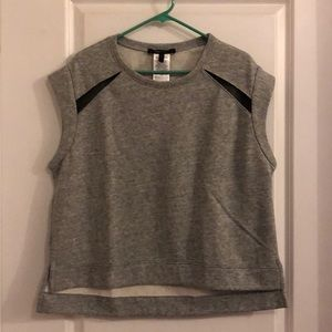 BCBG Max Azria short sleeve sweatshirt. Large.